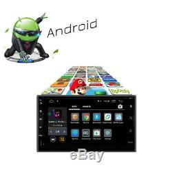 Quad Core Android 8.0 7 2 DIN Car GPS Bluetooth Stereo Radio FM MP3 MP5 Player