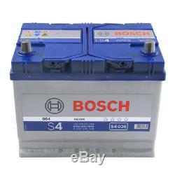 S4026 S4 068 Car Battery 4 Years Warranty 70Ah 630cca 12V Electrical By Bosch