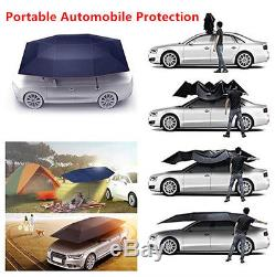 Semi-automatic Fold Car Protection Umbrella/Tent Windproof Sunproof Hood