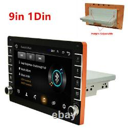 Single Din 9in Android 8.1 Car Stereo Radio MP5 Player Bluetooth GPS Wifi FM USB