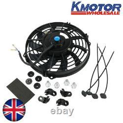 Universal 12V Electric car radiator cooling fan 9 inch fitting