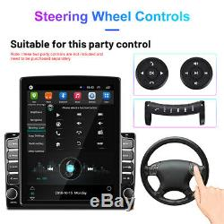 Vertical Screen 9.7 Android 9.1 Quad Core Car Wifi GPS Nav Stereo Player Radio