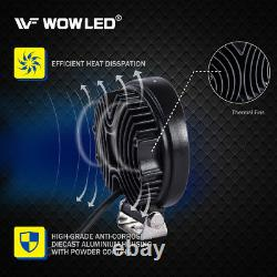 WOW 10X 27W LED Work Light Offroad Lamp Floodlight Round Truck Car 4WD UTE 12V