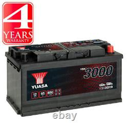 Yuasa Car Battery 850CCA Replacement Spare Part For VW Caravelle T5 2.5 TDi PD